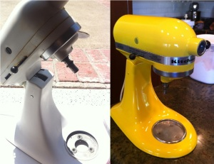 How to: Paint Your Kitchen Aid Mixer