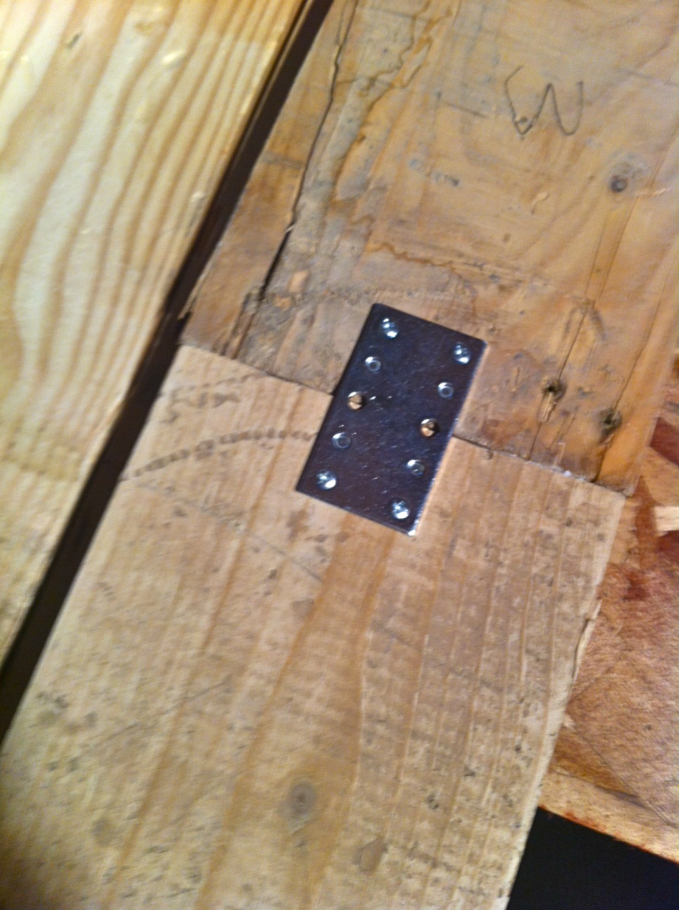 Pallet Headboard Little Bits Of
