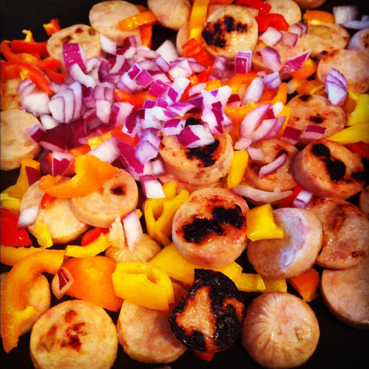 ... sausage burger calvados chicken apple sausage apple and calvados