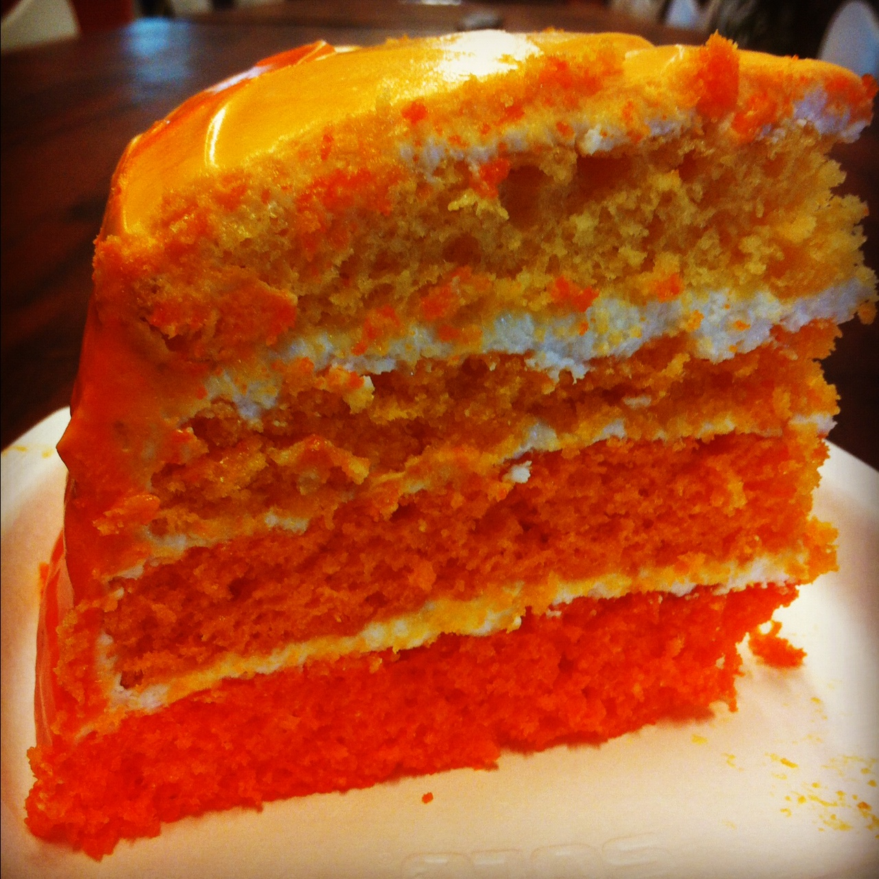 Orange Creamsicle Cake - Little Bits of...