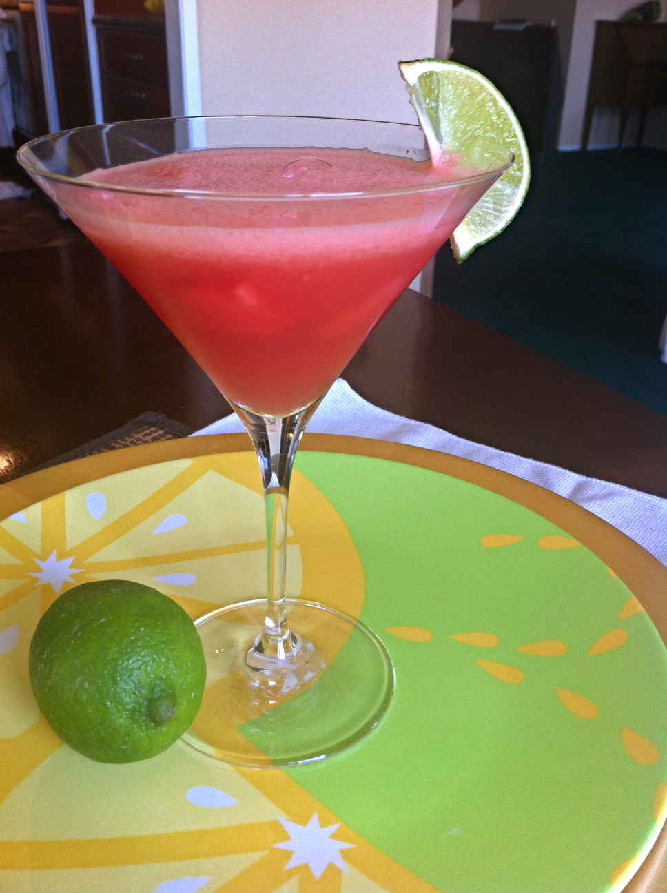 Watermelon Martini - Little Bits of...