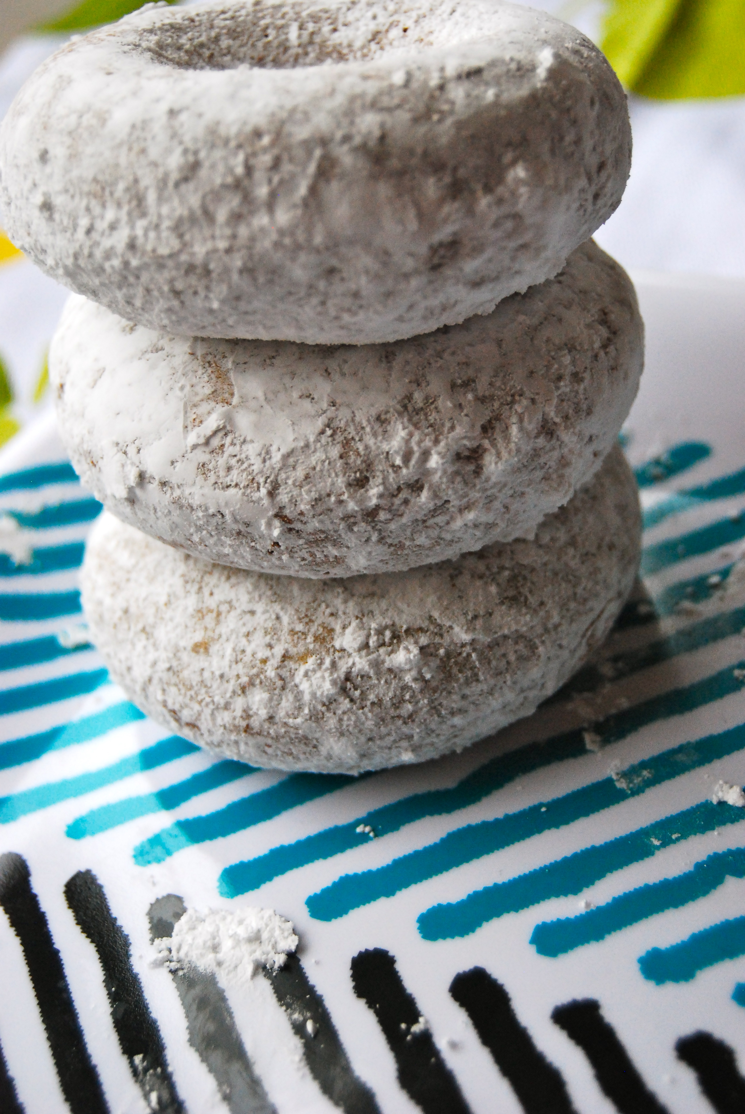 Baked Whole Wheat Powdered Donuts Little Bits Of
