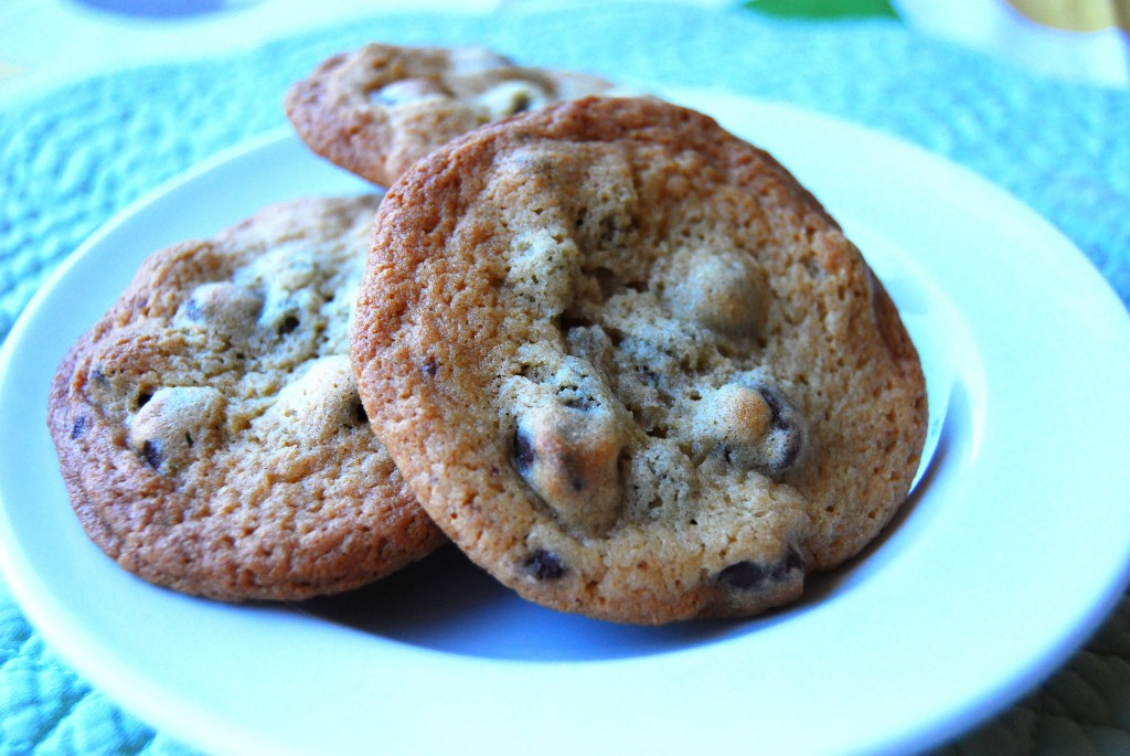 Malted Milk & Chocolate Chip Cookies - Little Bits of...