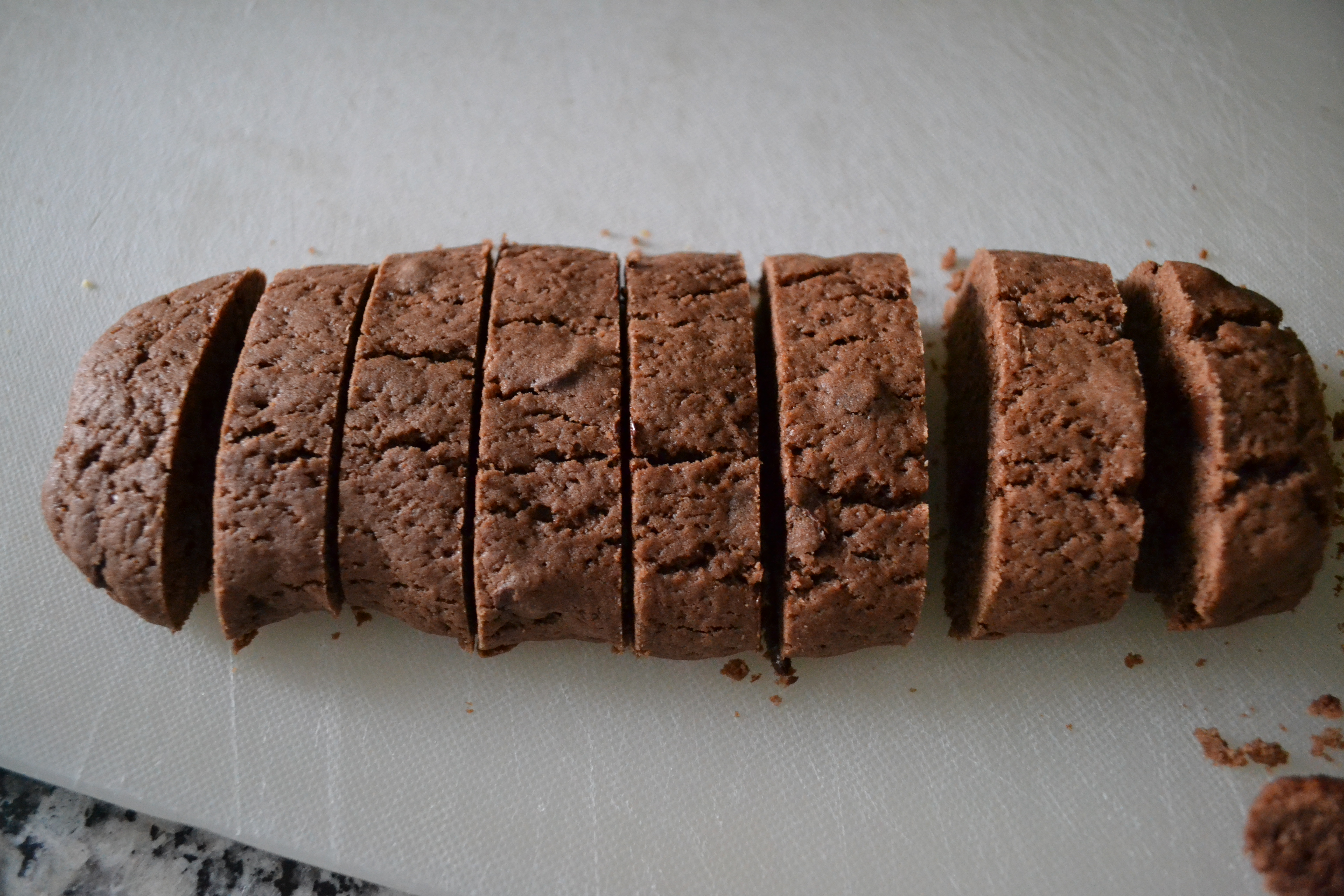 Peppermint Chocolate Biscotti - Little Bits of...