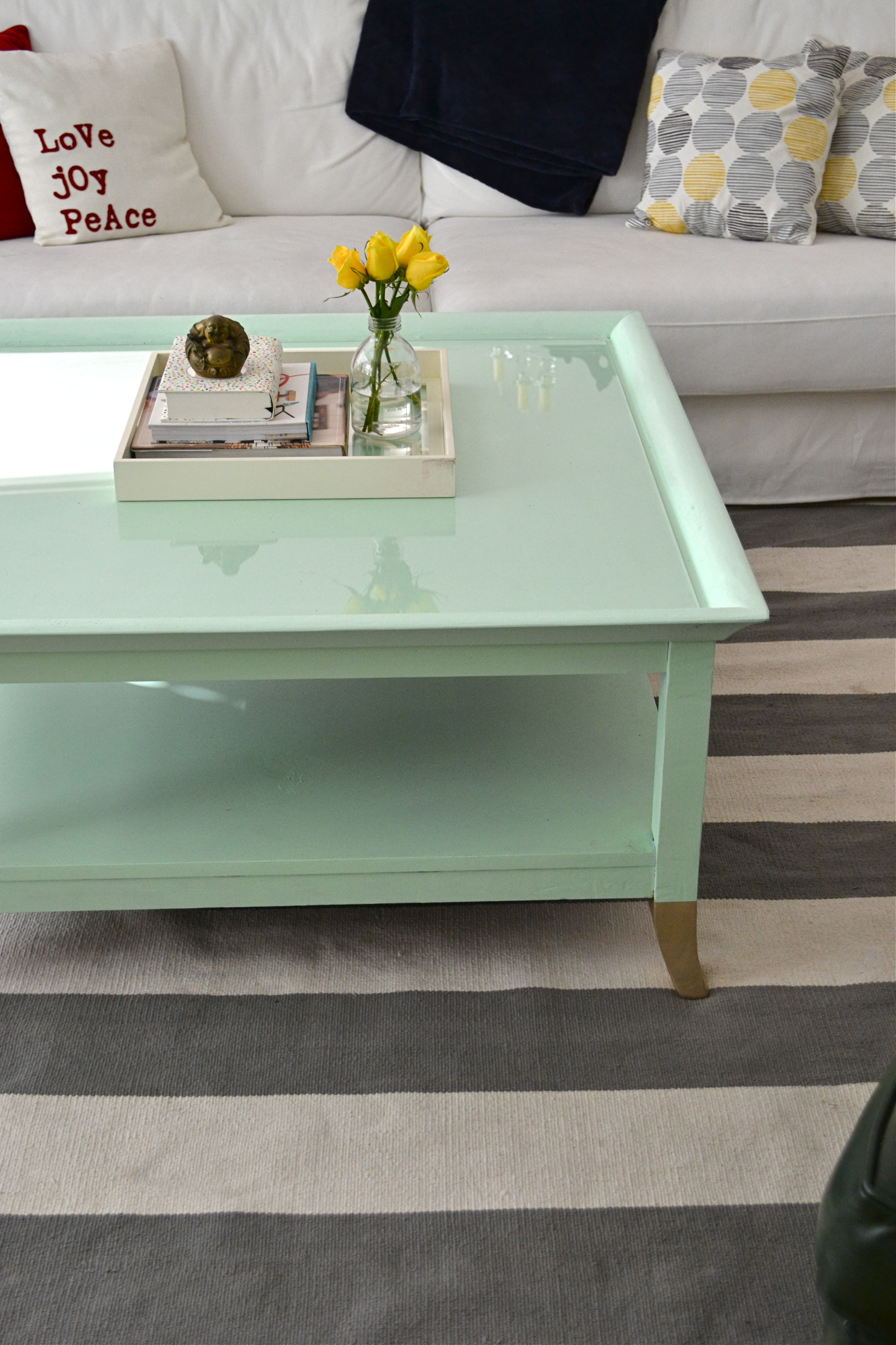 Green Coffee Tables Coffee Table Painted Green Coffee Addicts
