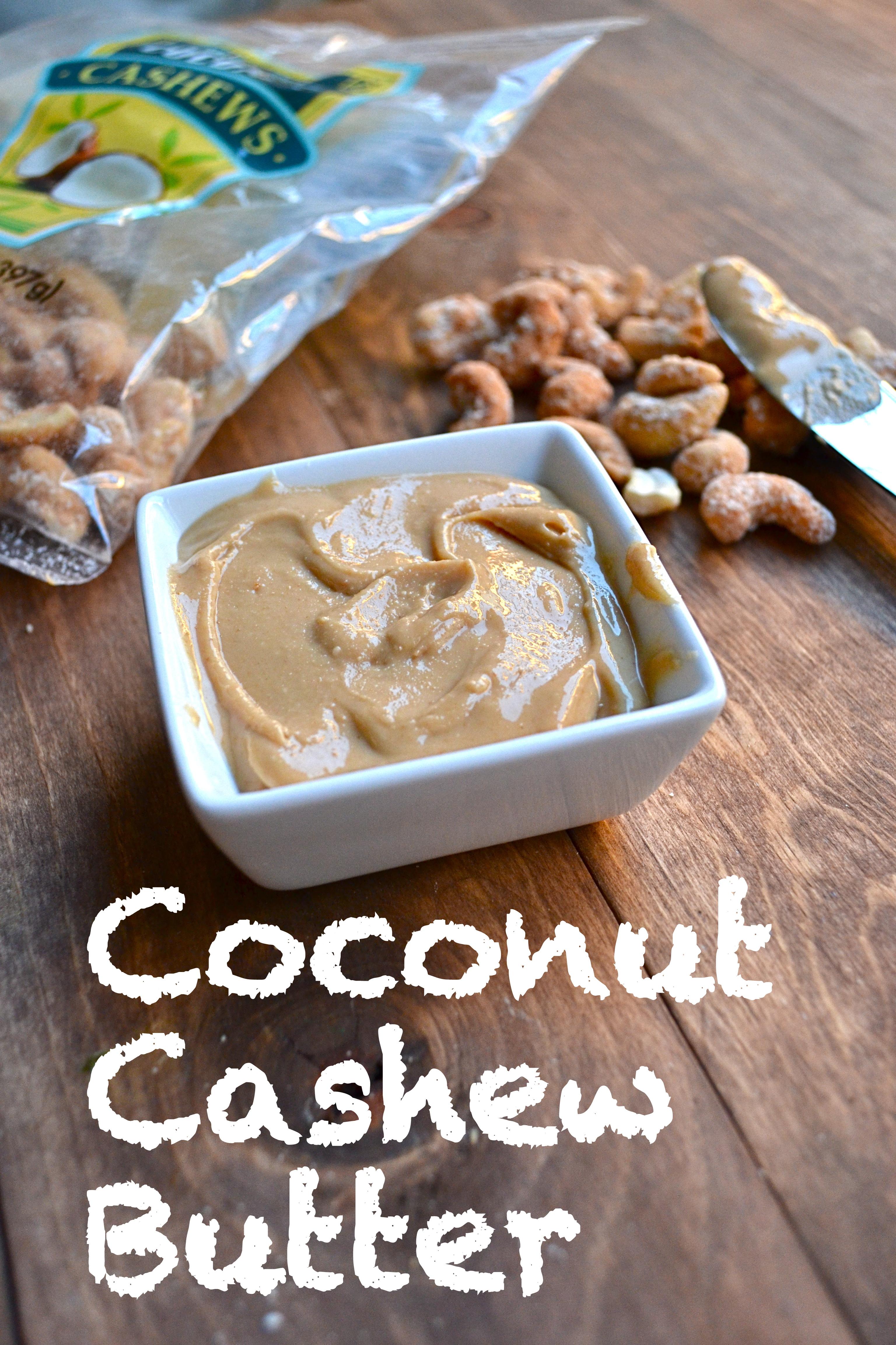 coconut cashew butter little bits of. Black Bedroom Furniture Sets. Home Design Ideas