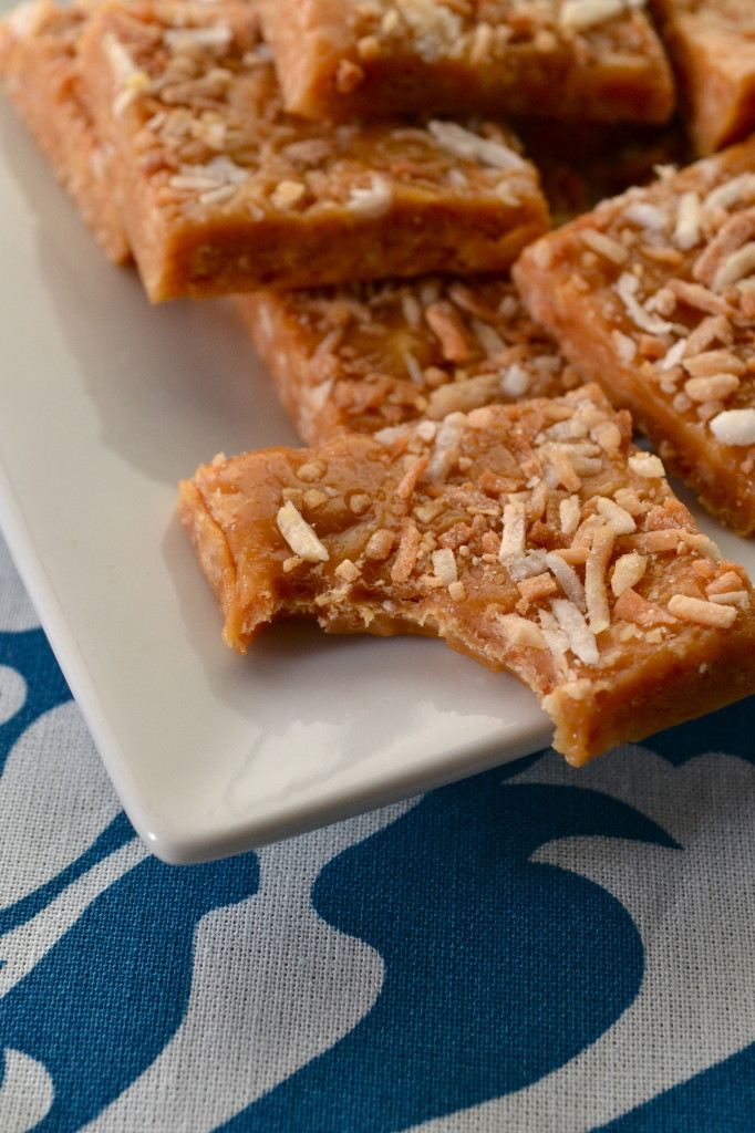 Easy Toasted Coconut Caramels