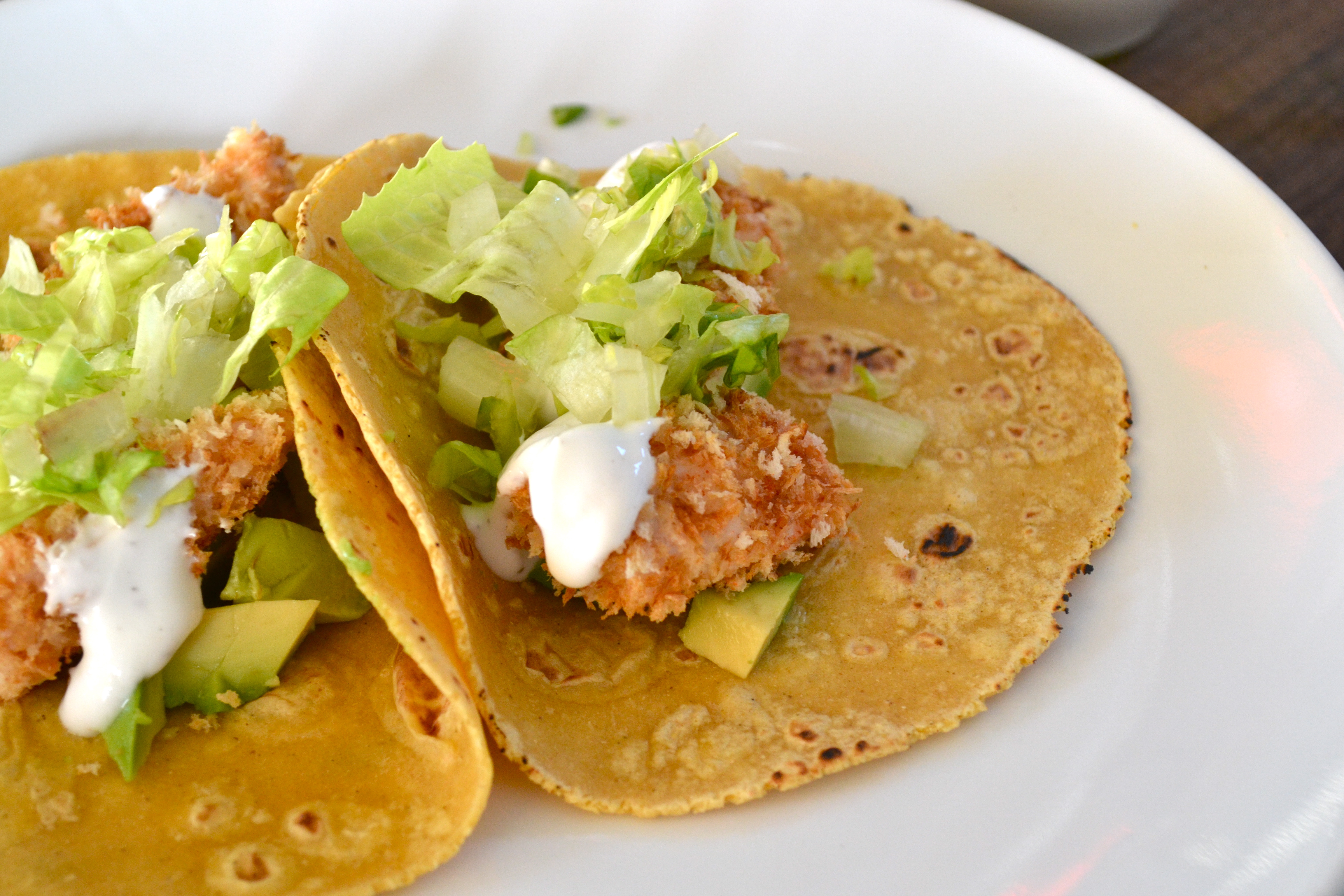 Baked Mahi Mahi Tacos W Lime Crema Little Bits Of