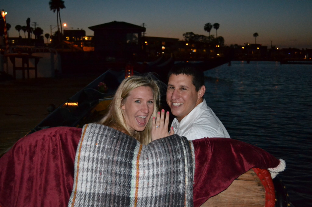 Engaged on a Gondola!