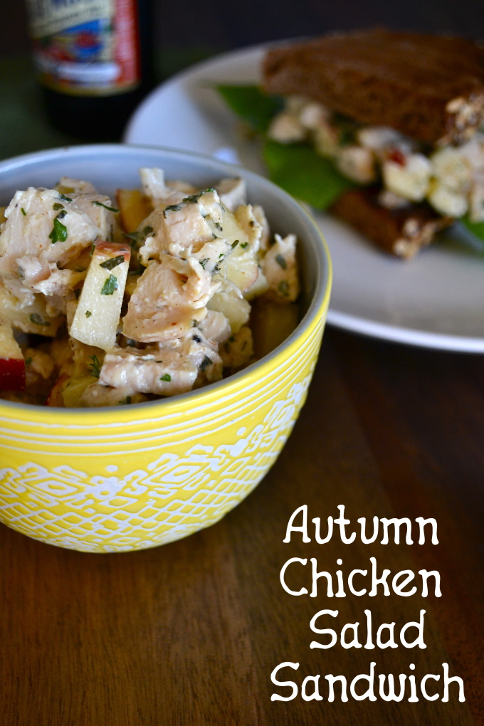 Autumn Chicken Salad Sandwich