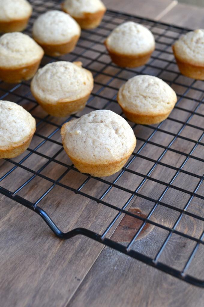 Multigrain Maple Mini Muffins Recipe — Dishmaps