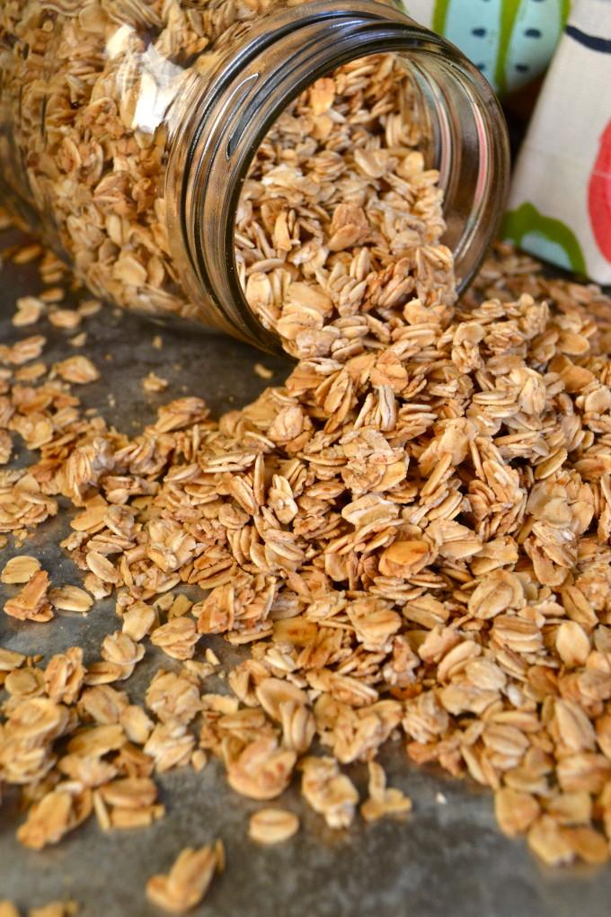 Old Fashioned Oats Granola Recipe