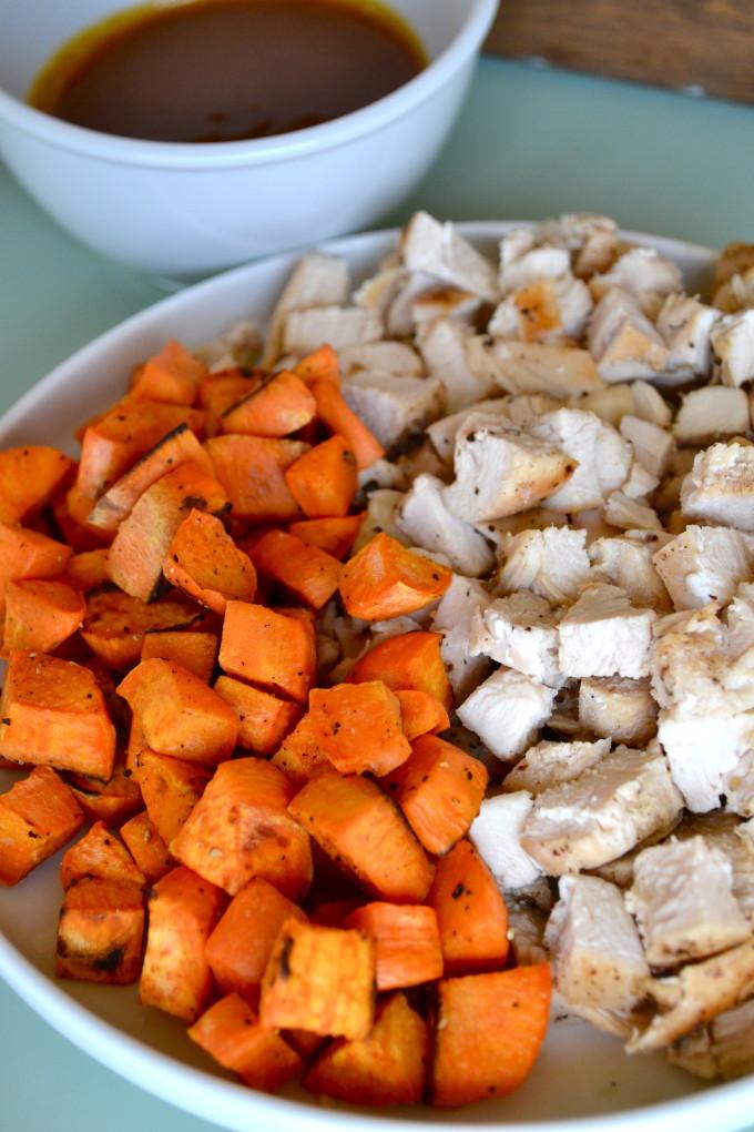 Curry Almond Butter Chicken Salad Sandwich
