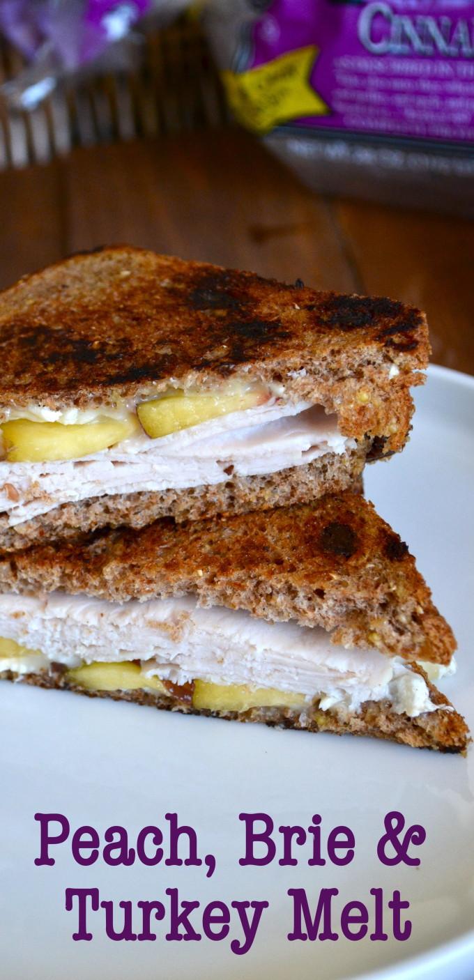 Peach Brie Turkey
