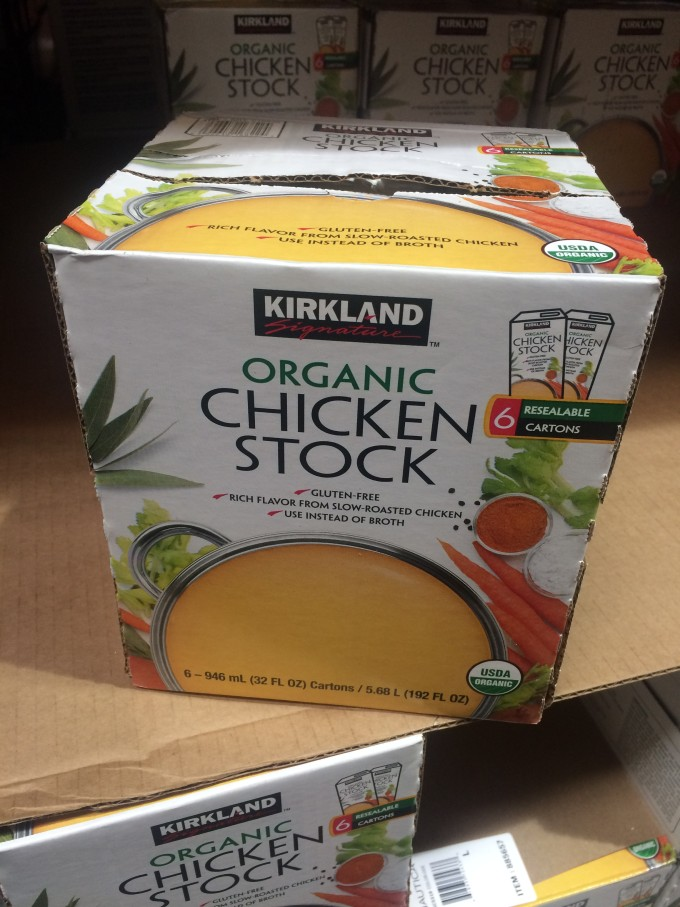 Whole 30 approved Chicken Stock from Costco!