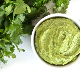 This Avocado Chimichurri is perfect for so many things! From a dip to spread to a sauce for meat, it is so versatile and also whole30 & paleo!