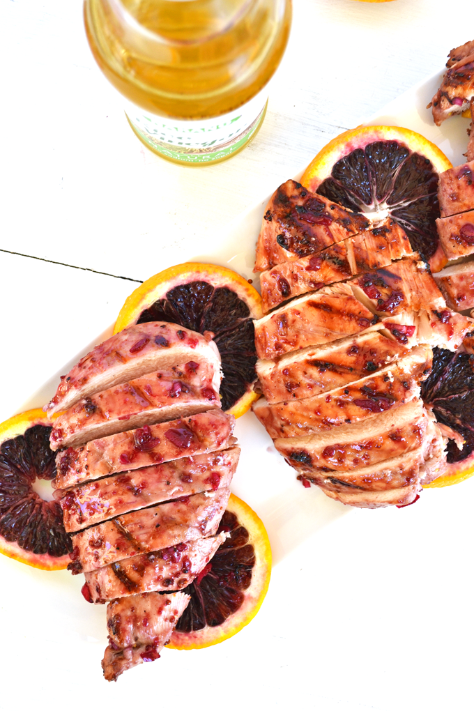 Blood Orange Marinated Chicken - perfect for grilling season! This ...