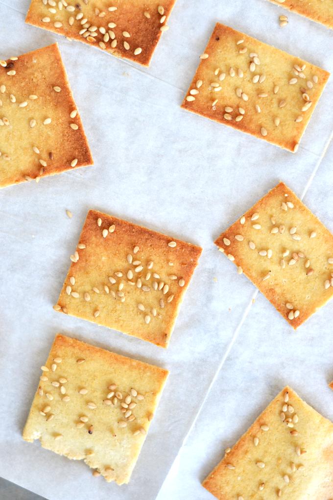 Sesame cracker