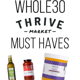 Looking for a Whole30 Shopping list? Look no further! Thrive Market has all of the pantry staples you need and at low prices no less! Here is my list of Whole30 Thrive Market Must Haves.