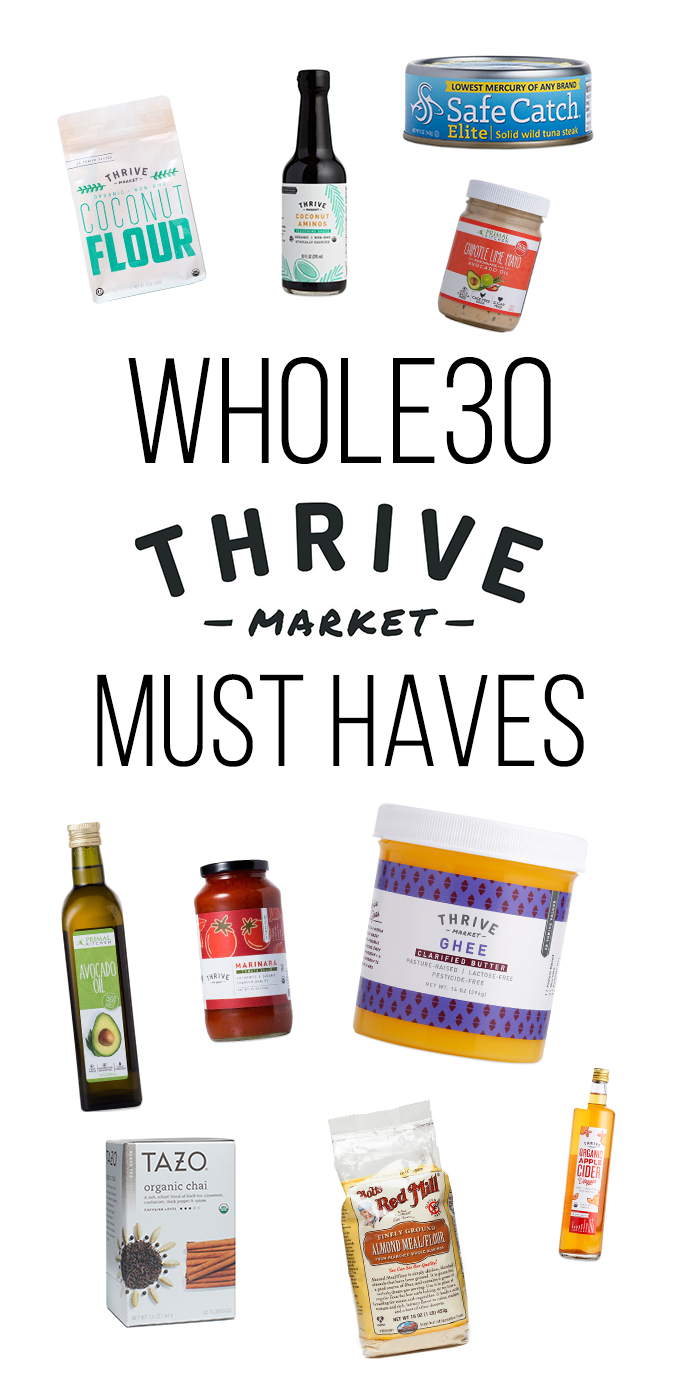 thrive market whole30 must haves little bits of. Black Bedroom Furniture Sets. Home Design Ideas