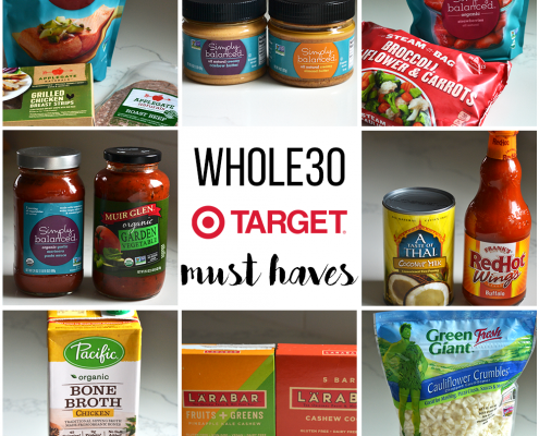 This Whole30 Target Must Haves list is the perfect shopping list to guarantee a healthy trip to the store!