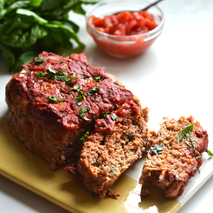 Turkey meatloaf with tomato sauce - Liss cardio workout