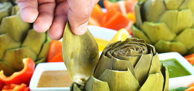 This Whole30 Artichoke Platter is the perfect appetizer to bring to a potluck or barbecue this summer or any time of the year!