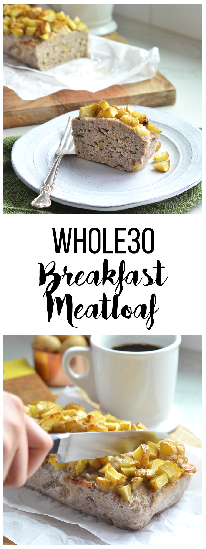 This Whole30 Breakfast Meatloaf is the perfect protein to prep for a week of Whole30 success!