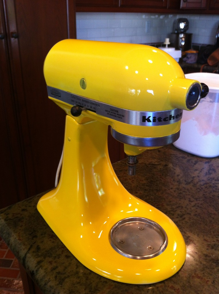 How To Paint Your Kitchen Aid Mixer Little Bits Of