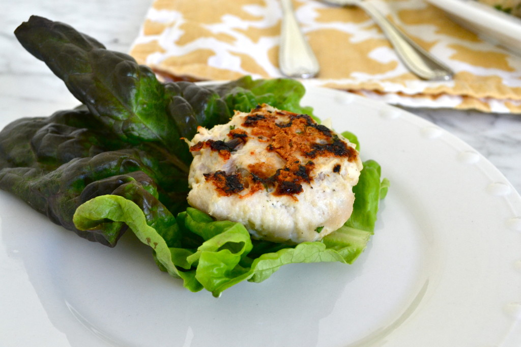 Greek Lettuce Wrapped Turkey Sliders 2