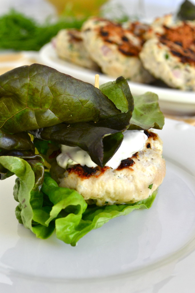 Greek Lettuce Wrapped Turkey Sliders 4