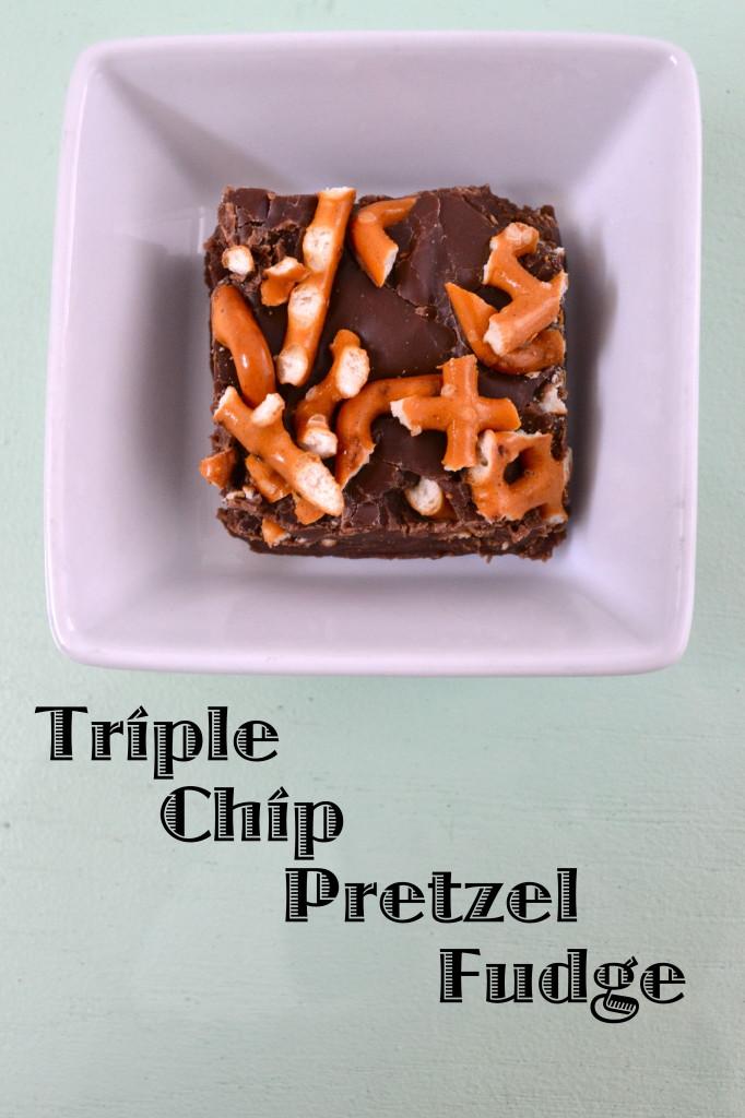 Trip Chip Pretzel Fudge