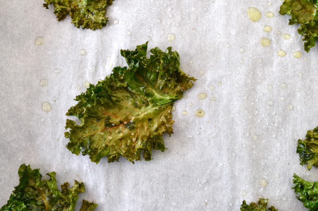 Crispy Salted Kale Chips