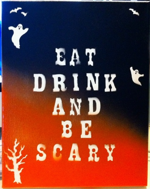Eat Drink & Be Scary : DIY