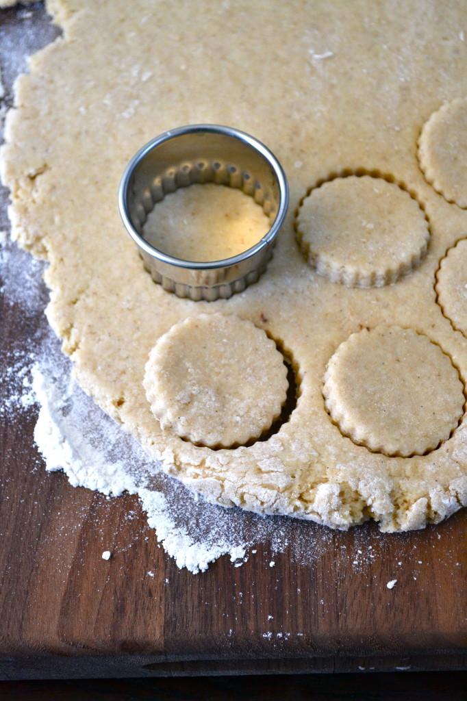 Mini Whole Wheat Almond & Vanilla Bean Scones