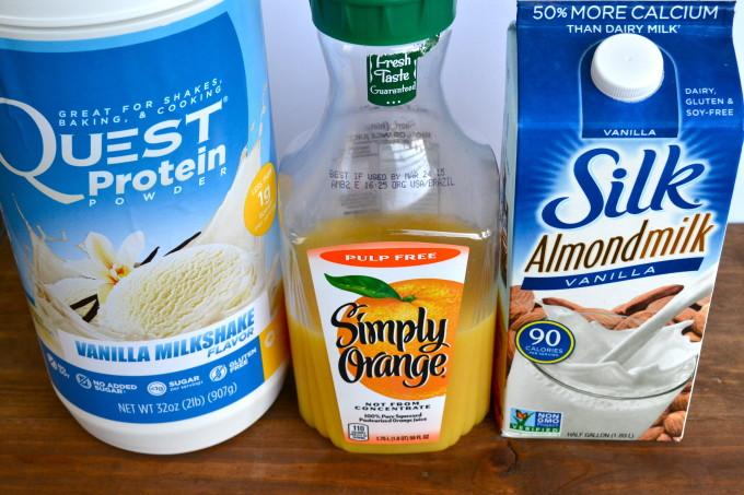 Protein Orange Julius