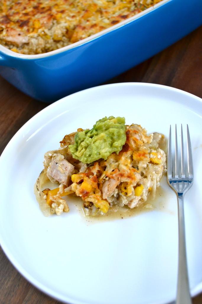 recipe: salsa verde chicken casserole [37]