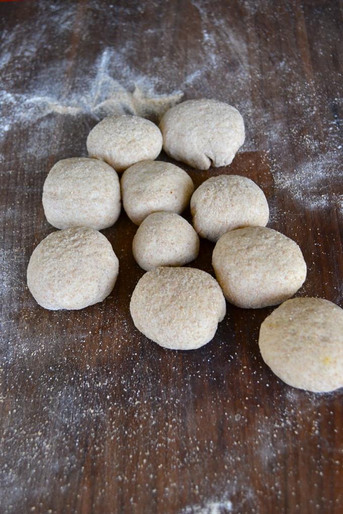 Whole Wheat Pumpkin Puffs