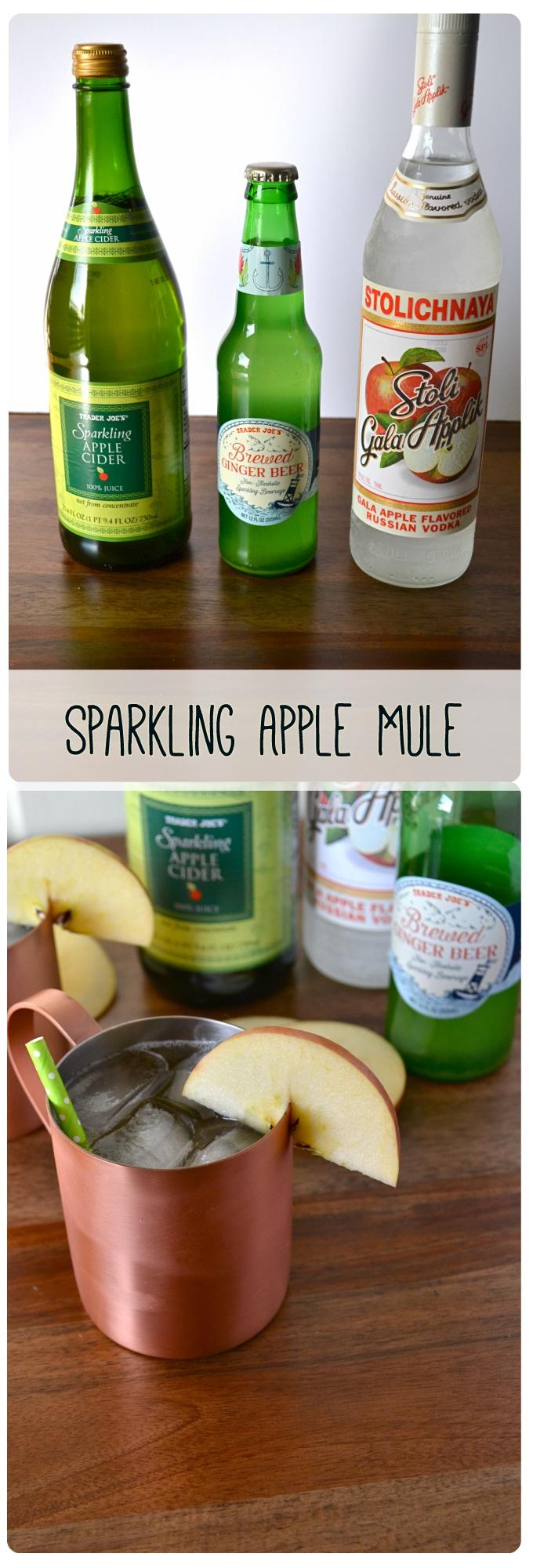 Sparkling Apple Mule