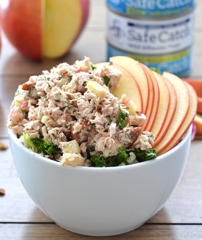 Tuna salad recipe apple cider vinegar for Best tuna fish salad