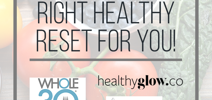 Some tips for finding a healthy reset whether it is a meal plan or mind plan!