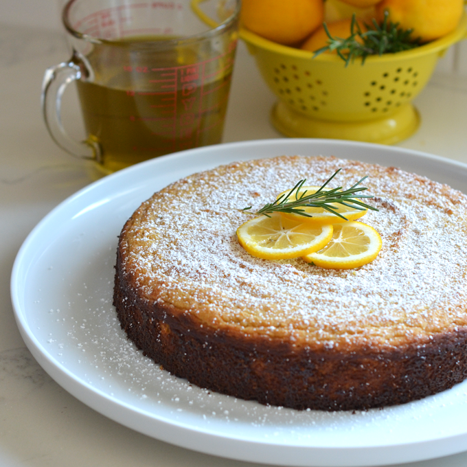lemon olive oil cake recipe index bits of 5484
