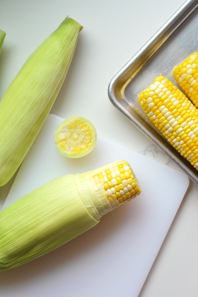 This Mexican Street Corn Dip is dairy free but and packed with yummy grilled sweet corn flavor! It is perfect for a summer party!