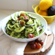 This Cold Zucchini Pasta Salad is a quick and easy way to make a veggie side dish that everyone will love!