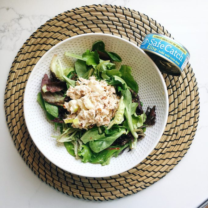 Whole30 Approved lunch - Tuna salad using Safe Catch Tuna!