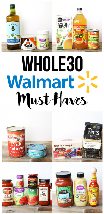 This Whole30 Walmart Must Haves list will make shopping for your whole30 a lot easier and cheaper!