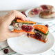 These Cranberry Stuffed Turkey Burgers are the perfect way to celebrate the holiday season! Quick, easy and paleo friendly!