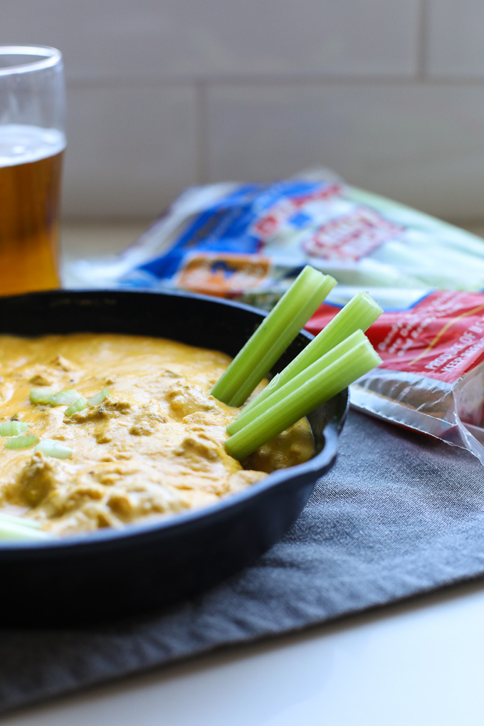 "This Italian Sausage Nacho ""Cheese"" Dip is the perfect game day dip that is not only delicious but dairy free and paleo!"