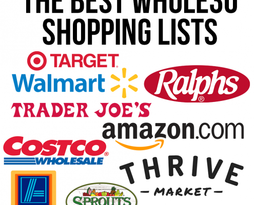 The Best Whole30 Shopping Lists for Trader Joe's, Target, Amazon, Thrive Market, Sprouts, Costco, Aldi and Ralphs!