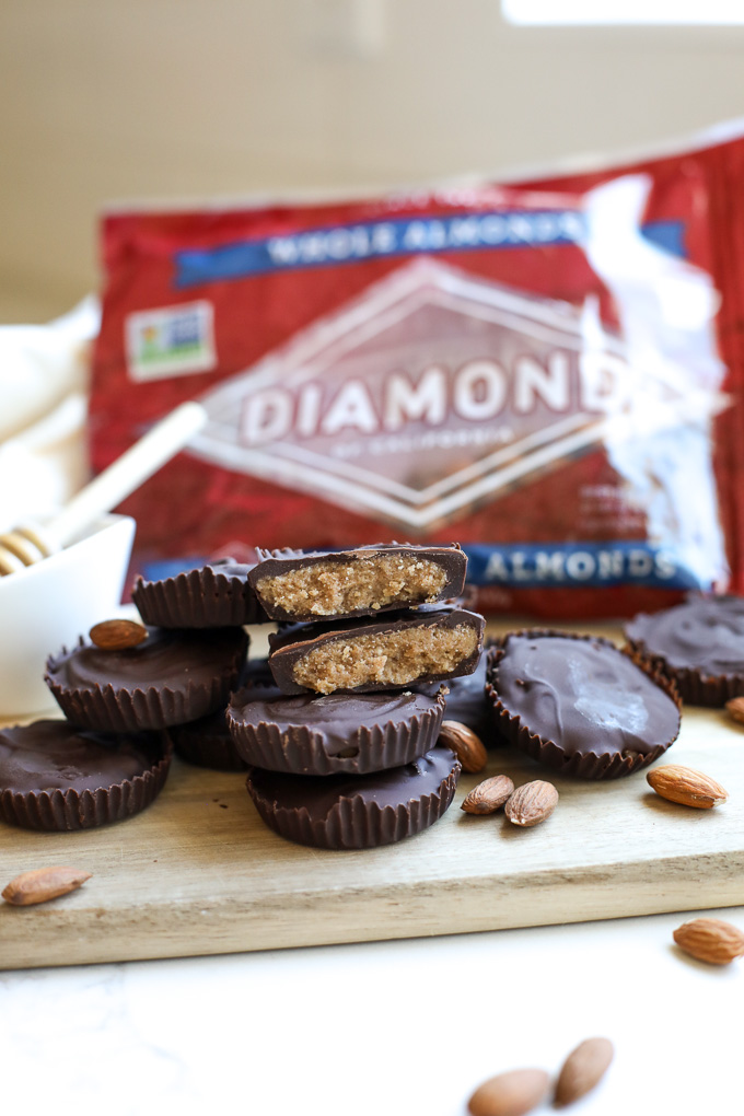 These Honey Vanilla Almond Butter Cups are the perfect sweet treat for any occasion! A simple mix of ingredients makes something extraordinary!